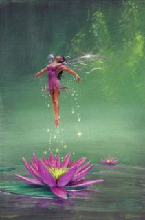 birth of a water lilly fairy Beginning of spring Fairy Dust, Fairy Land, Fairy Tales, Magical Creatures, Fantasy Creatures, Fantasy World, Fantasy Art, Fantasy Fairies, Kobold