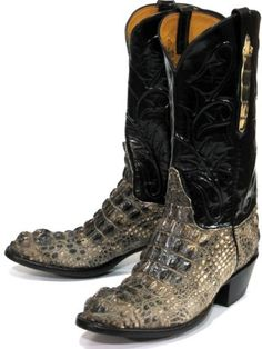 These Natural Alligator are quite simply the best in cowboy boots ...