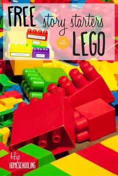 400 Free Lego creative writing prompts for hands on kinesthetic learners: build…: