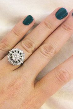 9 Real Proposals, As Told By Instagram #refinery29  http://www.refinery29.com/engagement-ring-selfies#slide1