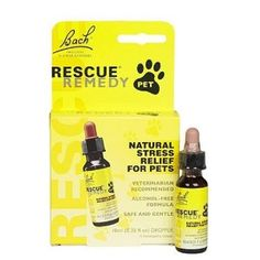 Must try: Bach Pet Rescue Remedy, 1-Count