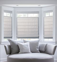 Have a bay window to cover? They can be a challenge, so take a look at this measuring guide from the design experts at Blinds.com!