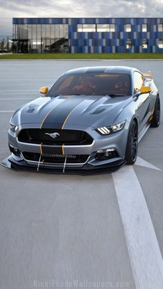 2015 Ford Mustang iPhone 5 wallpaper