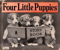 Four Little Puppies by Harry Whittier Frees by ElwoodAndEloise, $9.50