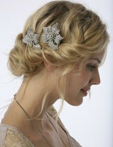 Soft and feminine with the 'Gatsby' influence