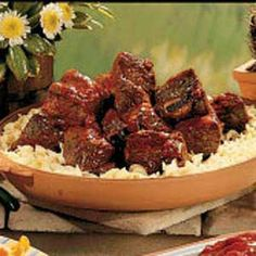 Barbecued Beef Short Ribs.