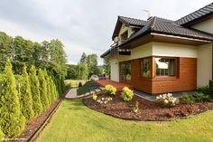 Dom w kameliach Garden Design, House Design, Home Fashion, Beautiful Homes, Pergola, Sweet Home, Cabin, Mansions, Interior Design