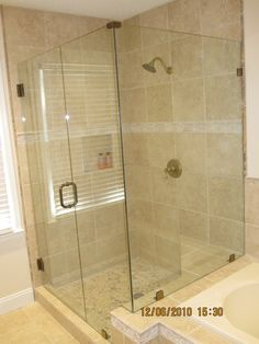 Bathroom Shower Idea #1- love this but needs bench