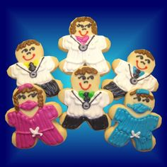 Doctor and Nurse Cookies