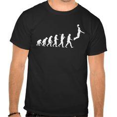 Evolution - Basketball T-Shirts by artist 1universe.