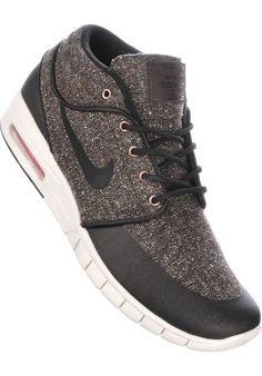 Nike-SB Stefan-Janoski-Max-Mid, Shoe-Men, baroquebrown-black #ShoeMen #MenClothing #titus #titusskateshop