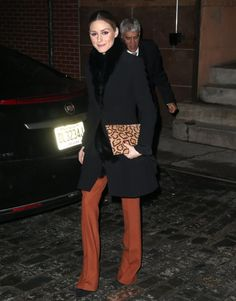 Olivia Palermo Photos Photos - Olivia Palermo Goes Out in NYC - Zimbio