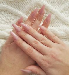 nice 60 Inspirational Ideas for Almond Nails -- Trendy Nails Designs