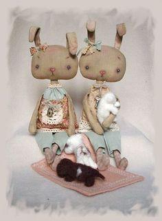 Ароматизированные куклы ручной работы. Ярмарка Мастеров - ручная работа А у нас сегодня кошка родила вчера котят... :-). Handmade.