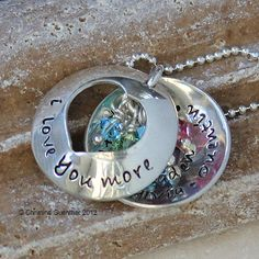 I Love You More locket $96.00 (at that price I'll keep dreaming!)