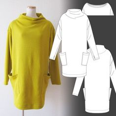 Бесплатные выкройки Japanese / Simple patterns / hands - patterns, alteration of clothing, interior decoration with their hands - on Second Street Japanese Sewing Patterns, Dress Sewing Patterns, Free Sewing, Knitting Patterns Free, Clothing Patterns, Pattern Sewing, Free Pattern, Cowl Patterns, Knitting Ideas