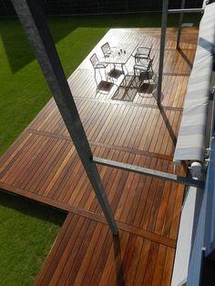 Cumaru Holzklinge für Terrasse - My WordPress Website Creative Deck Ideas, Deck Patterns, Patio Deck Designs, Landscape Timbers, Floating Deck, Timber Deck, Terrace Design, Wooden Decks, Decks And Porches