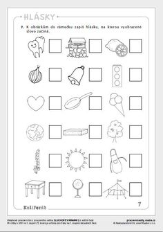 Ukázkové listy :: KuliFerda a jeho svět Montessori Activities, Preschool Worksheets, Activities For Kids, Crafts For Kids, Bulgarian Language, Primary Teaching, Baby List, Kids Education, Alphabet