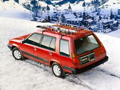 Toyota Tercel 4WD Wagon - My mom used to have one of these.