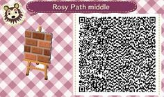 And.... Rosy path middle acnl