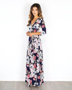 Helen Long Sleeve Maxi Dress