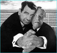 Walter Mathau (October 1, 1920 - July 1, 2000) and Jack Lemmon (February 8, 1925 -  June 27, 2001)