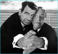 Walter Mathau and Jack Lemmon, forever...