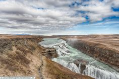 Stunning views of Gullfoss on the Golden Circle