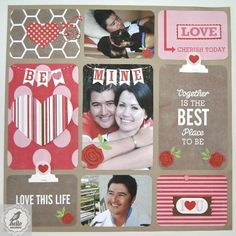 Project live digital inspiration using files from Lori Whitlock and a layout by layout by Roelien