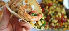 Fresh Grilled Shrimp & Corn Tacos Recipe