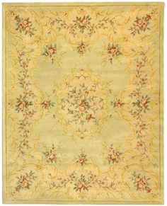 Bergama Tans/Browns/Rusts Hand Tufted Wool Area Rug