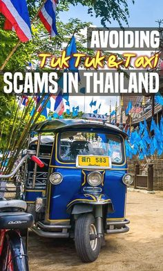 Don't be caught off guard by these common tuk tuk and taxi scams in Thailand. Learn from our mistakes!