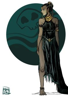 She is Hades' and slightly Poseidon's. Filipino Art, Filipino Culture, Filipino Tattoos, Philippine Mythology, Celtic Mythology, Greek Mythology, Mythological Creatures, Mythical Creatures, Fantasy Inspiration