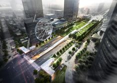 Gallery of Dominique Perrault's Crystalline Glass Scheme Wins Competition for Underground Multi-Modal Hub in Seoul - 1