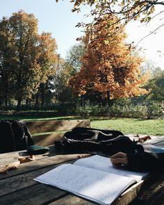 L'ho già messa su FB ma questa foto mi piace un sacco quindi la metto anche qua!  . Sotto questo sole bello cazzeggiare sì ma c'è da studiare.  Ravizza  Milan  #VSCOcam #autumn4igers by puma_36