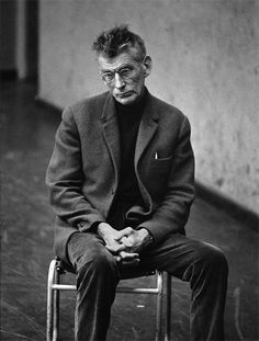 Samuel Beckett, London, 1963. Photo: Dmitri Kasterine.