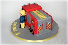 Fireman Sam Cake by donna_makes_cakes, via Flickr