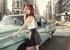 SNSD Sunny - Casio Baby-G F/W 2015