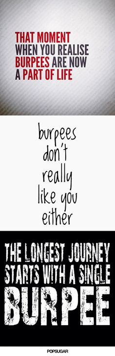 Painfully Funny Quotes About Burpees