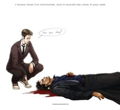 Doctor Who - Are you okay? by ~maXKennedy on deviantART