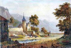 Vander BURCH l'Église de Bourg d'Oisans Isère