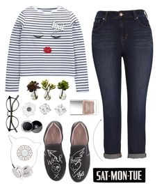 """""""untitled#23"""" by xpink-amphibian ❤ liked on Polyvore featuring Melissa McCarthy Seven7, Nearly Natural, Vivienne Westwood, Butter London, Skinnydip and Chanel"""