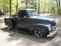 Hot Rod Chevy Trucks | 1950 Chevrolet Pickup i will own a truck just like this one day . I like everything about it !