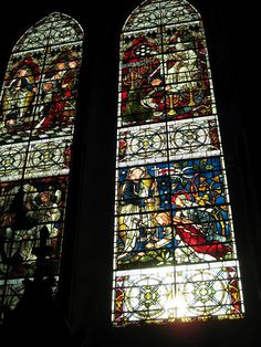 Salisbury Cathedral - Medieval Stained Glass Windows