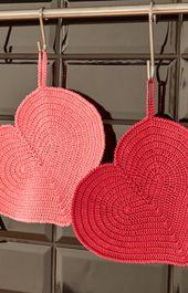Die 79 Besten Bilder Von Herzen Gehäkelt Und Gestrickt Crochet