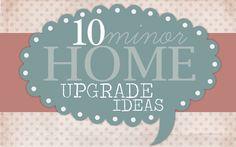 home upgrade ideas