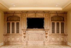 built-in entertainment centers
