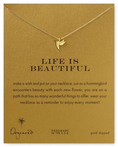 Dogeared Hummingbird Necklace | Bloomingdales