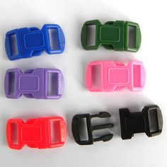 Buckle 12mm assorted Colours