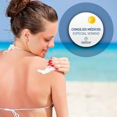 Tomar el sol sí, ☀ pero con protección. Es un consejo de nuestra Unidad de Dermatología: